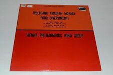 Wolfgang Amadeus Mozart Four Divertimenti~Vienna Philharmonic Wind Group~W9060