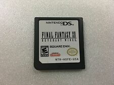 Final Fantasy XII 12 Revenant Wings US - Nintendo DS Game Only - Eng. - 2DS 3DS