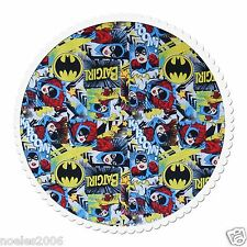 Fabric by the Yard - Licensed DC Comics Batgirl Girl Power