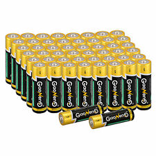Popular 50pcs Gaoneng Max AA Alkaline Batteries 1.5v Bulk Single Use Batteries