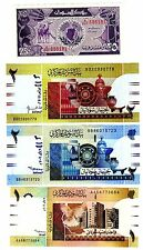 LOT SET SERIE 4 Billets AFRIQUE DU NORD // NORTH AFRICA 1987 -2006 NEUF UNC