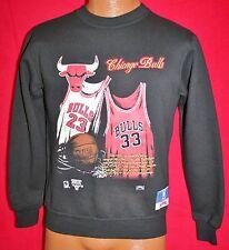 Vintage 1992 CHICAGO BULLS Michael Jordan Scottie Pippen Jersey SWEATSHIRT Vtg