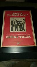 Cheap Trick Dancing The Night Away Rare Original Promo Poster Ad Framed!