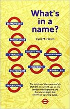 What's in a Name?: Origins of Station Names on the London Underground New Paperb