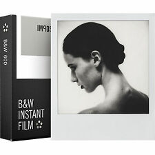 Impossible Project 600 B&W Instant Film White Frame Polaroid 8 Photo PRD_4516