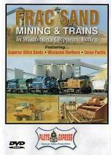 Frac Sand Mining & Trains in Wisconsin's Chippewa Valley DVD WNR UP mines Plets