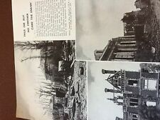 m8-2 ephemera 1938 ww1 picture 1918 villers bretonneux after the german attack