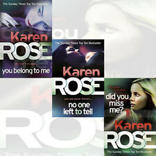 Karen Rose's The Baltimore Series Collection 3 Books Set You Belong To Me, New