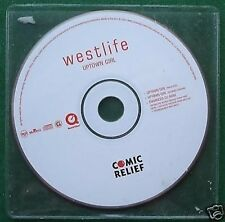 Westlife Uptown Girl Enhanced 2001 Comic Relief CD Single