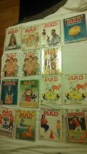 MAD MAGAZINE LOT OF 15 FROM 1979-1989