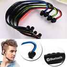 Headphone Earphone Neckband Wireless Bluetooth Sport with Microphone Headset New