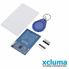 MFRC-522 RC522 RFID RF IC CARD READER MODULE| S50 FUDAN CARD AND KEYCHAIN BE0017