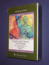 Teaching Co Great Courses  CDs      PEOPLES and CULTURES of WORLD     new sealed