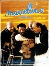 """Affiche 120 x 160 du film """"MARCELLINO """" de Luigi Comencini ."""