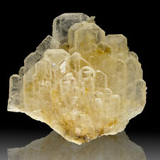 "4.3"" Long Clear BARITE Bladed Crystals Tight Group Murton Mine England for sale"