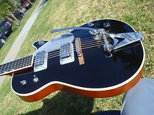 Gretsch G6128-TVP G6128 Bigsby Power Duo Jet Black Very Clean with COA