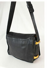 DKNY Black Black Soft Leather Cross-body Shoulder bag Handbag Purse