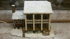 Currier & Ives Collection Museum the City of New York Lighted Porcelain Village