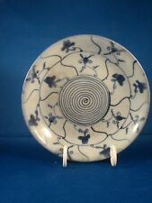 Nice Chinese Export Blue And White Dish