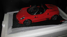 TOP SPEED 1/18 ALFA ROMEO 4C SPIDER ROSSO ALFA RED TS0016 AWESOME DETAIL RESIN