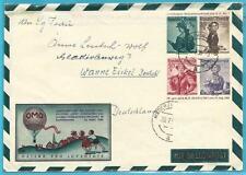 Österreich Pro Juventute Ganzsache mit Wertzeichenaufdruck, Trachten aus 1951!