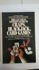 the las vegas experts guide to caps black jack card games