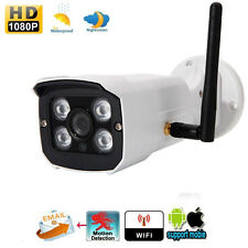 1080P HD Wireless WIFI IP Camera Outdoor Network CCTV Webcam IR Night Vision EU
