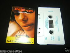 THE INK SPOTS MELODY OF LOVE NEW ZEALAND CASSETTE TAPE THE INKSPOTS