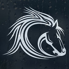 Horse Head Car Decal Vinyl Sticker For Wall Or Window Bumper Panel