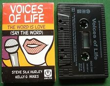 Voices of Life The Word is Love (Say the Word) Cassette Tape Single - TESTED