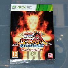 Naruto Ultimate Ninja Storm Generations Card Edition - Xbox 360 - Pal - Neuf