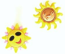 2 PINS CLIPS SOLEIL SMILEY FIT JIBBITZ SHOE CHARMS POUR CROCS