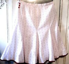 NWT Nanette Lepore Anthropologie pleated adorable skirt,S,2,4-see measurement