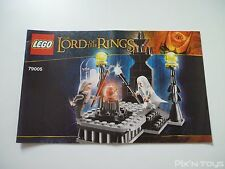 LEGO Notice Instruction /  Lord Of The Rings 79005 The Wizard Battle