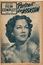 Magazine LE FILM COMPLET PORTRAIT D'UN ASSASSIN Arletty MARIA MONTEZ 1950