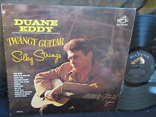 "Duane Eddy ""Twangy Guitar-Silky Strings"" LP"