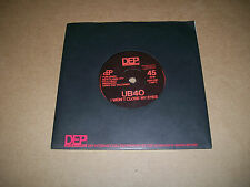 "UB40 - I Won't Close My Eyes - DEP International 7"" Vinyl 45 - 1981 - NM-"
