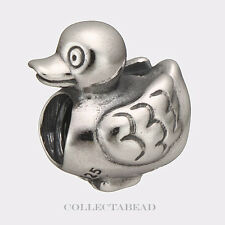 Authentic Pandora Sterling Silver Ducky Bead 790955
