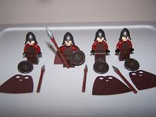 LEGO® LOTR minifigure ROHAN SPEAR helmet shield cape hobbit castle soldier lot