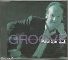PAUL CARRACK - I live by the groove - CDs SINGLE 1990 USATO OTTIME CONDIZIONI