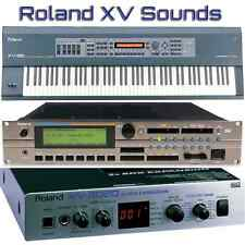 Roland XV-88, XV-2020, XV-3080, XV-5050, XV-5080 - Largest Sound Collection
