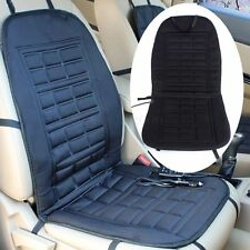 12V Universal Car Seat Hot Heated Pad Cushion Warmer Protectors Cover Mat Black