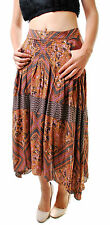 Free People Women's Paradise Printed Skirt Multicolor Size UK 4 RRP £98 BCF610