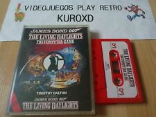MSX JAMES BOND 007 IN THE LIVING DAYLIGHTS