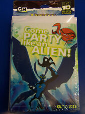 RARE Ben 10 Alien Force Cartoon Network Birthday Party Invitations w/Envelopes