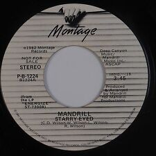 MANDRILL: Starry Eyed MONTAGE Funk Soul DJ Promo 45 NM- Hear