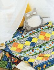 Baby Owls Quilt Pattern Pieced JH