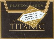 Titanic Playing Cards - Deluxe edition plus collector coin (RARE)
