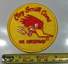 "CLAY SMITH CAMS ""MR.HORSEPOWER"" OFFICAIL 3"" PATCH STREET RAT ROD HOT ROD"
