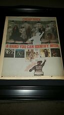 Cheap Trick Dream Police Rare Original Promo Poster Ad Framed!